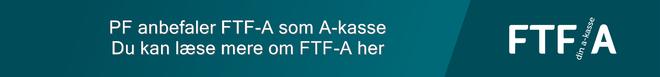PF anbefaler FTF-a som a-kasse.